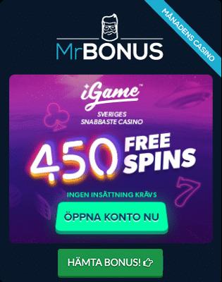 Mobil casino faktura