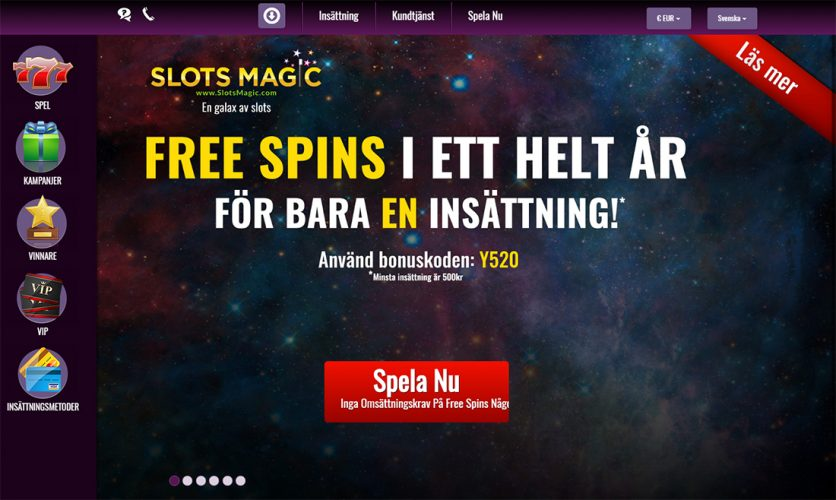 slots magic bonusar