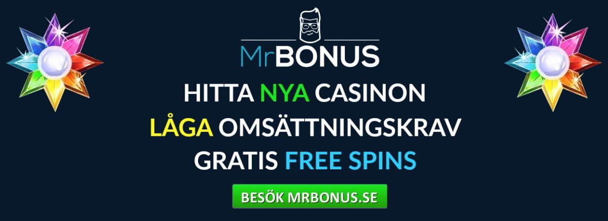 Nya MrBonus med 30 free spins