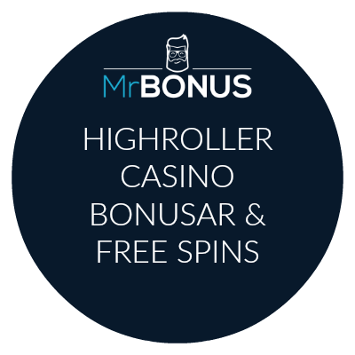 Highroller casino bonusar